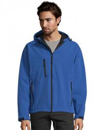 Mens Hooded Softshell Jacket Replay